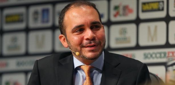 Príncipe jordaniano Ali Bin Al-Hussein, rival de Joseph Blatter em eleição da Fifa