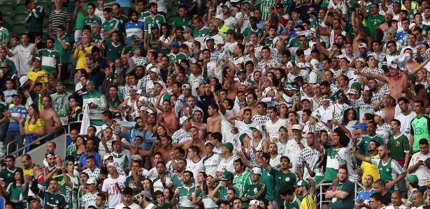 Cerca de 29 mil torcedores compareceram ao Allianz Parque para acompanhar o jogo entre Palmeiras e Capivariano, no Paulistão