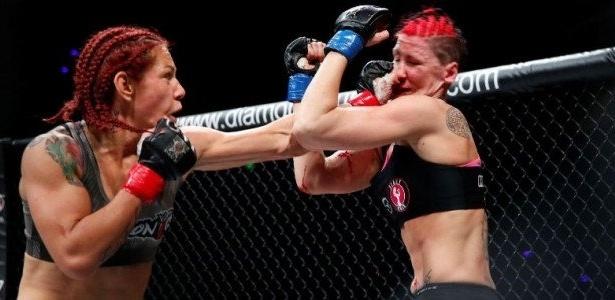 Brasileira Cris Cyborg arrasou Charmaine Tweet em apenas 46s. Ronda no caminho?