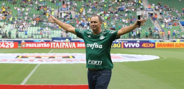 Evair, ex-atacante do Palmeiras, participará de evento na final do Paulistão