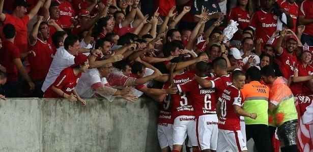 Inter registrou prejuízo com cadeiras quebradas pela própria torcida no Beira-Rio