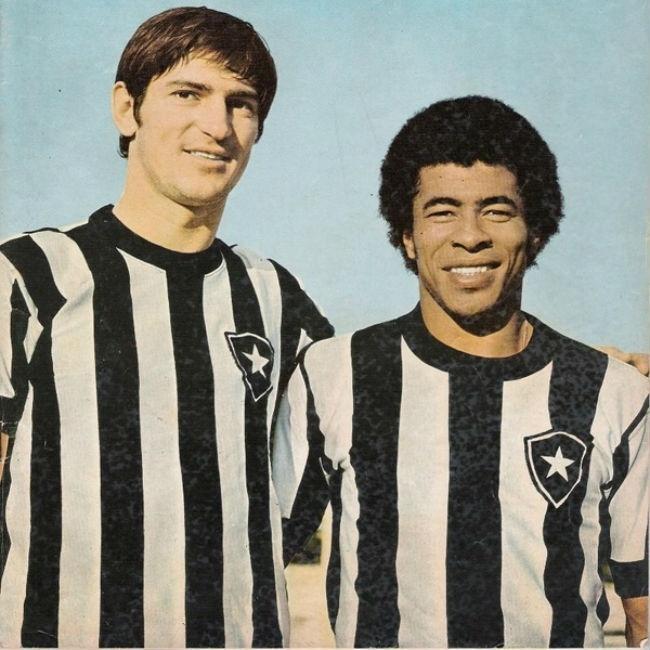 Fischer vestiu a camisa do Botafogo por três anos e marcou 68 gols.