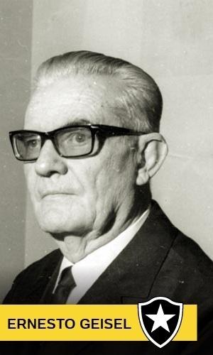 Ernesto Geisel, torcedor do Botafogo