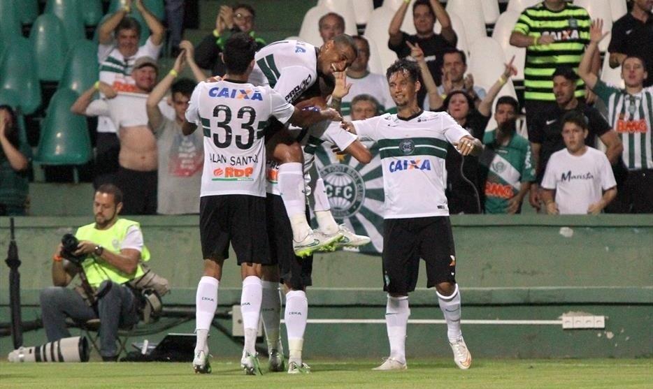 Coritiba passa com tranquilidade pelo Rio Branco em jogo válido pela nona rodada do Campeonato Paranaense