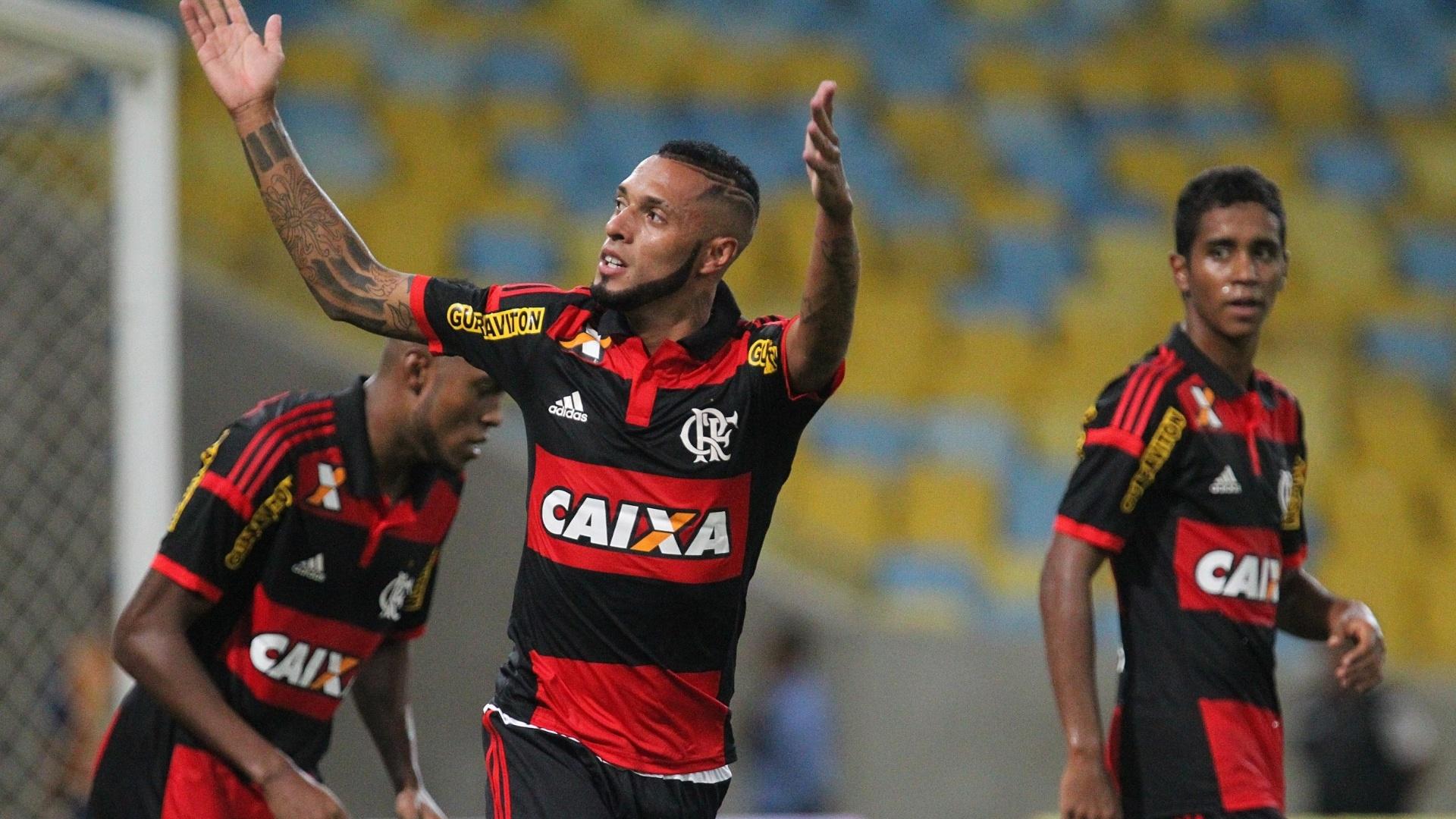 O atacante Paulinho foi o nome da vitória do Flamengo sobre o Volta Redonda