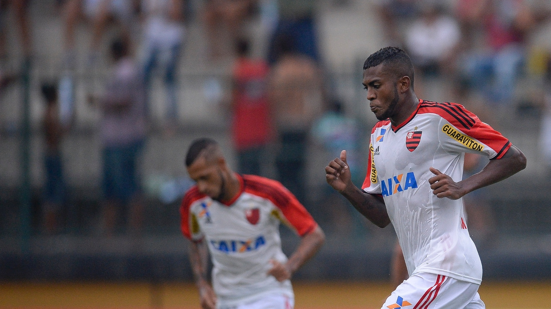 Marcelo Cirino fez dois gols na vitória do Flamengo sobre o Tigres