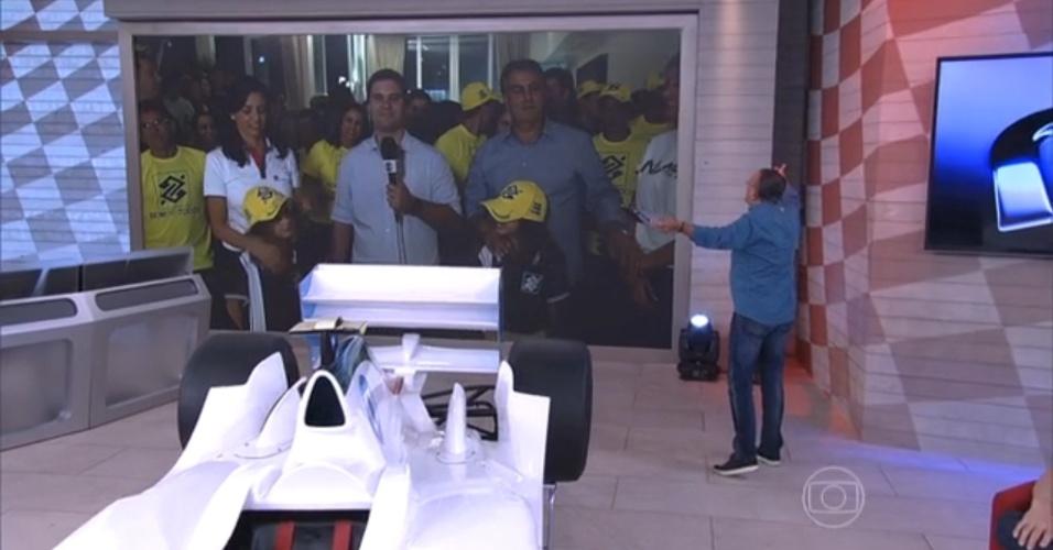 Com Galvão Bueno, Rede Globo aposta em programação renovada para a Fórmula 1 em 2015