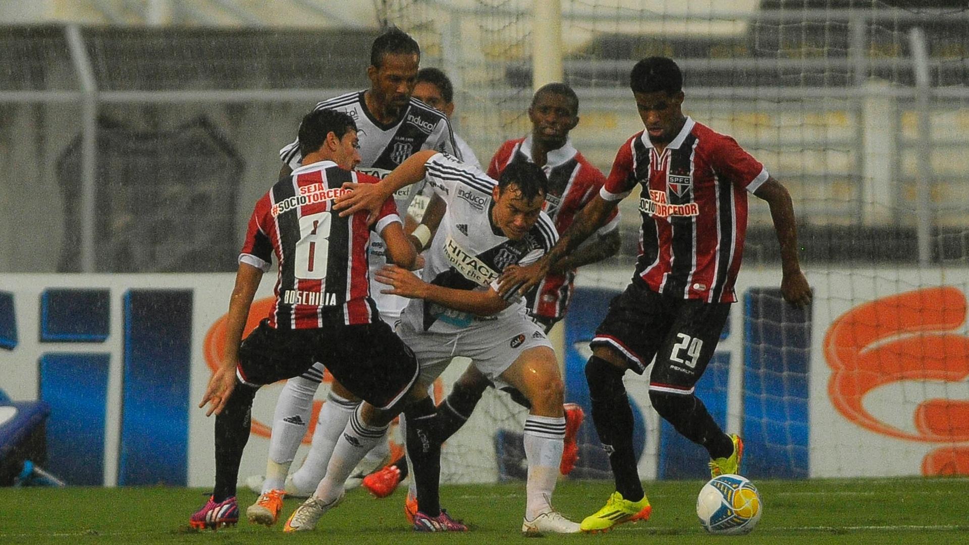 Ponte Preta x São Paulo pelo Campeonato Paulista