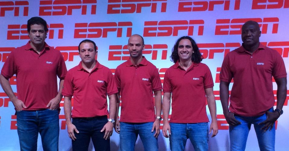 ESPN conta com ex-jogadores de times da Libertadores para cobertura da competição: Raí, Iarley, Marques, Sorín e Rincón