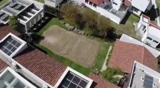 17.mar.2015 Vista aérea da mansão de Ronaldinho Gaúcho em Querétaro