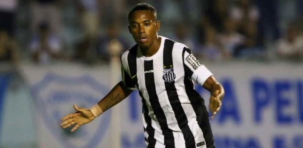 Ganso e Robinho estão na pauta do Santos para a disputa da Libertadores de 2016