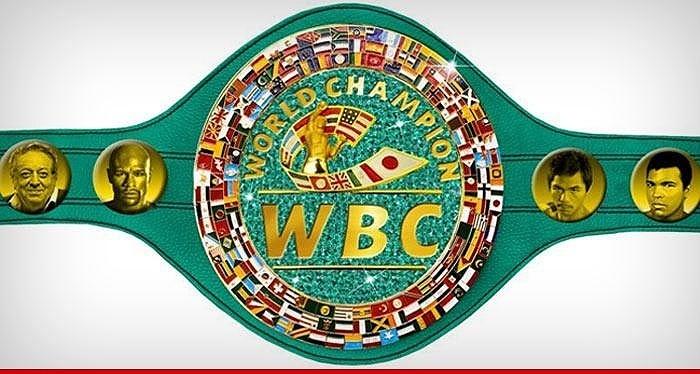 Cinturão de esmeralda que o vencedor da luta Mayweather x Pacquiao vai receber