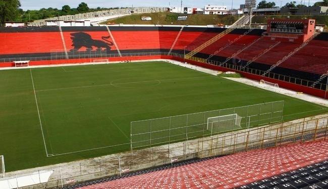 Em dívidas com a União, Vitória colocou o Barradão como garantia para contrato