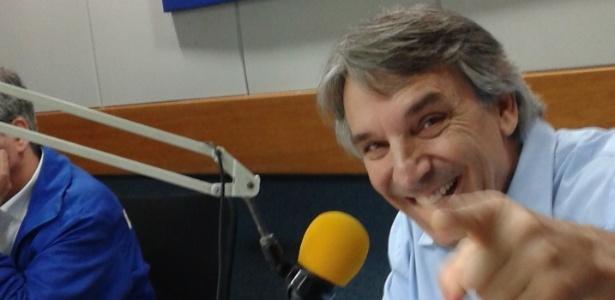 """Oscar Ulisses, narrador do """"Futebol Globo/CBN"""""""