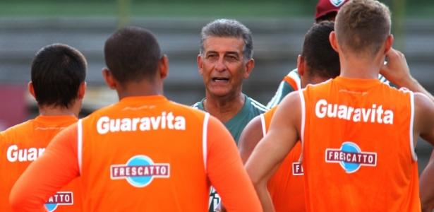 O prestígio de Ricardo Drubscky com o elenco do Fluminense não era dos maiores