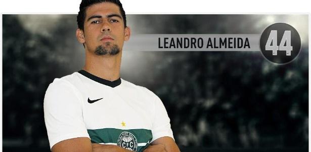 Leandro Almeida, zagueiro do Coritiba