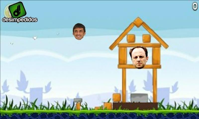 O que o gol de Robinho em Rogério Ceni tem a ver com Angry Birds?