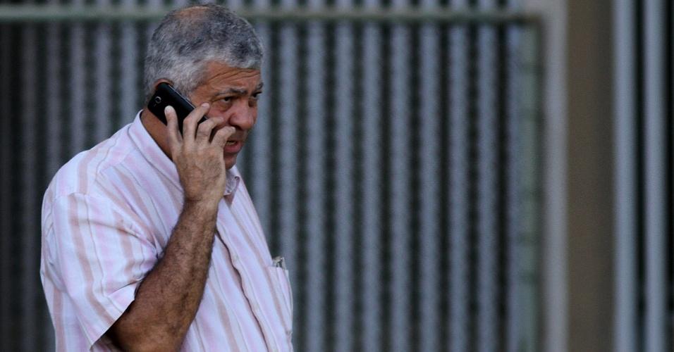 Vice de futebol Antonio Carlos Mantuano no treino do Botafogo