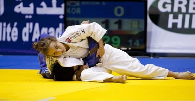 Nathália Brígida, atleta do judô