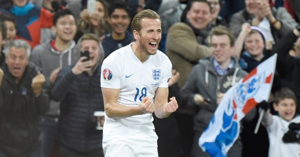 Sensação na Inglaterra, Harry Kane entrou durante o jogo e marcou com apenas 3 minutos em campo