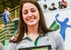 Brasileira melhor do mundo no handebol vira tema de selo dos Correios - Santiago Russo/Photo&Grafia