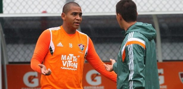 Walter abandonou treino do Fluminense na semana passada e criou polêmica