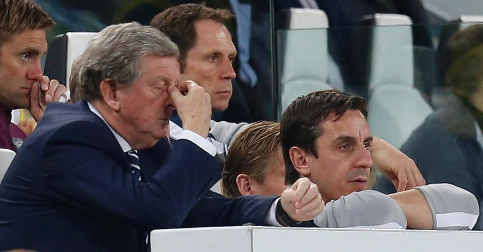 Roy Hodgson lamenta resultado negativo da Inglaterra contra a Itália