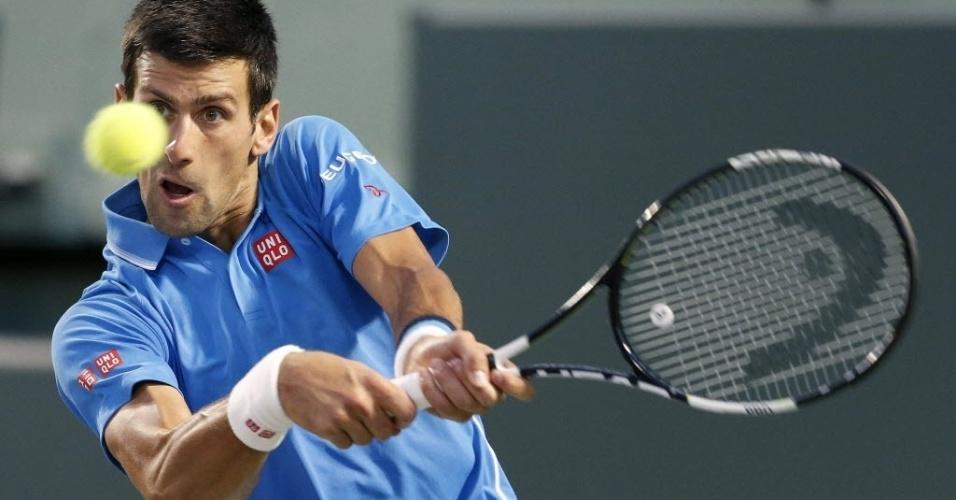 Djokovic venceu o americano John Isner e está na final do Master 1000 de Miami onde enfrenta o britânico Andy Murray