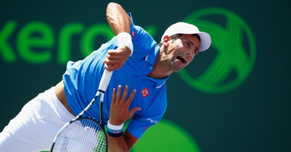 Djokovic saca na final do Master de Miami