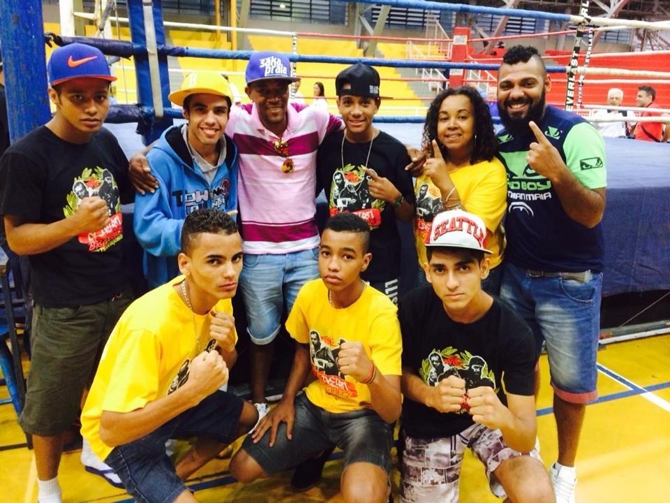 Valdemir Pereira, o Sertão, comparece à Forja de Campeões, em São Paulo