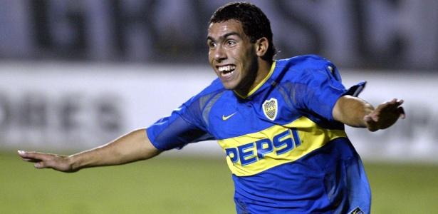 Tevez esteve no Boca há 11 anos