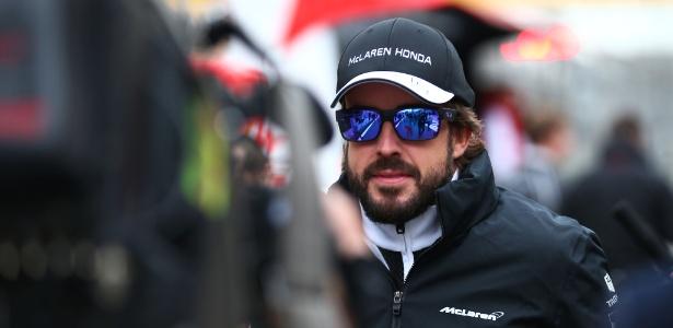 Sofrendo com o rendimento ruim da McLaren, Alonso marcou apenas um ponto neste ano