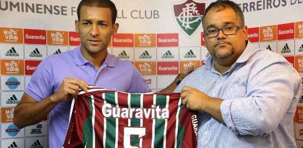 O volante Pierre, de 33 anos, foi um dos reforços do Fluminense para o Brasileiro