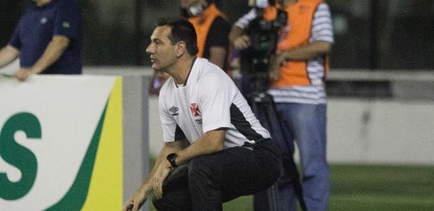Doriva criticou a atuação do Vasco, principalmente no primeiro tempo