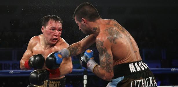 Com o rosto desfigurado, Provodnikov é atingido por Matthysse e acaba derrotado por pontos