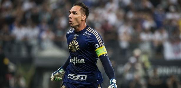 Fernando Prass permaneceu após 2014 e segue como titular da equipe do Palmeiras