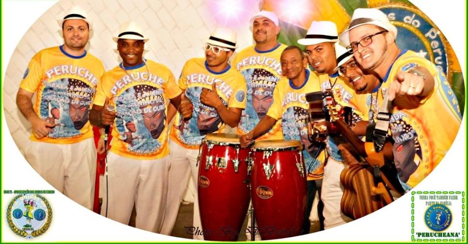 É de Mydras Schmidt, em parceria com Rodrigo Bola, o samba enredo que a Unidos do Peruche defendeu na avenida no carnaval deste ano