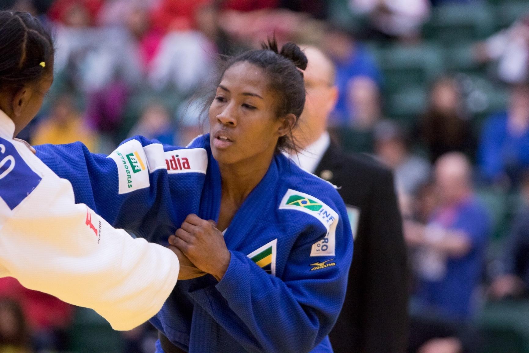 Ketleyn Quadros perde em sua estreia no Campeonato Pan-Americano de judô em Edmonton