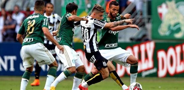 """Lucas Lima """"reascendeu"""" rivalidade com provocações ao Palmeiras nas redes sociais"""