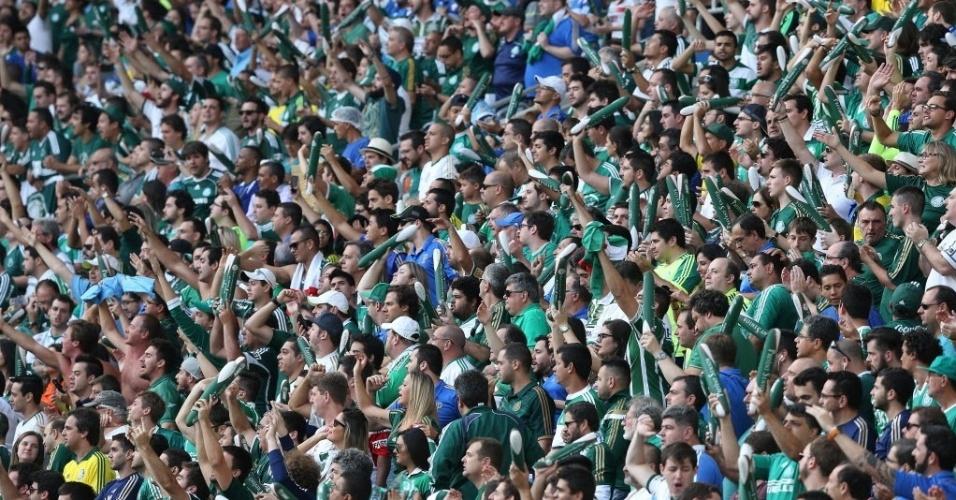 Torcida do Palmeiras lotou estádio e final do Paulistão bateu recorde de público