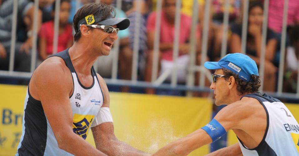 Ricardo e Emanuel buscarão vaga nos Jogos Olímpicos do Rio de Janeiro