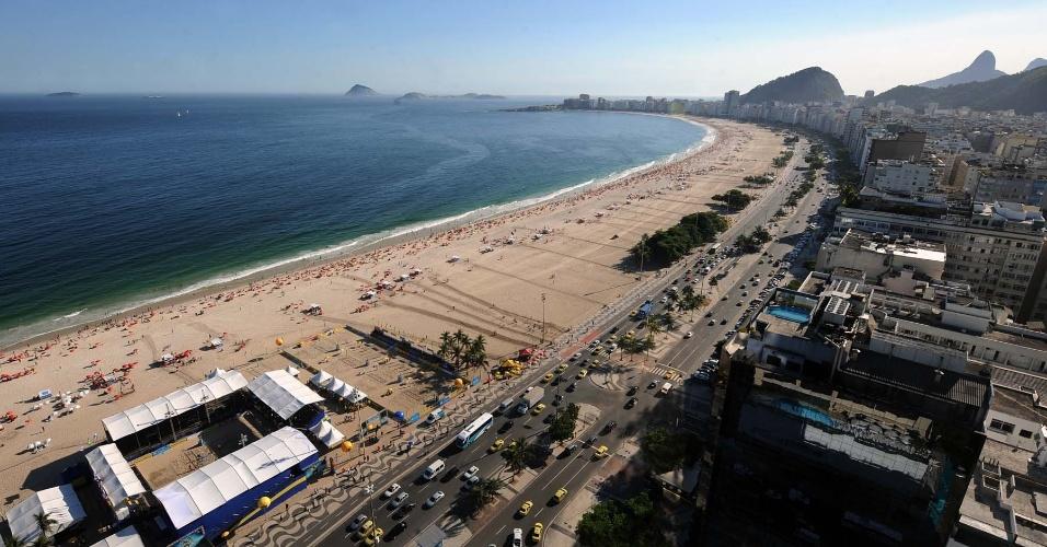 Arena de vôlei de praia em Maceió