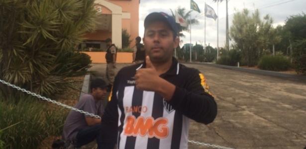 Marcelo Borges nasceu na cidade de Cruzeiro, mas é torcedor do Atlético-MG