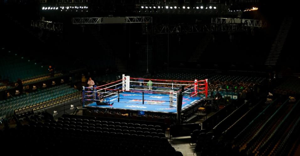 MGM Grand Garden Arena se prepara para receber a