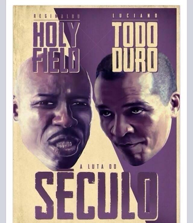 Os fãs brasileiros não têm dúvidas: a verdadeira luta do século teria Reginaldo Holyfield e Luciano
