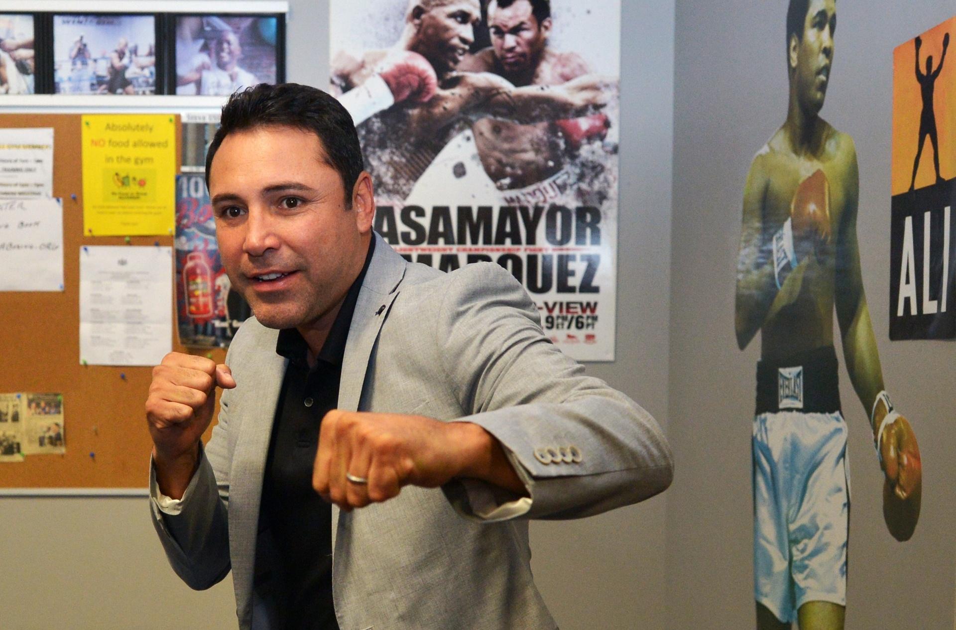 Oscar de la Hoya, ex-pugilista