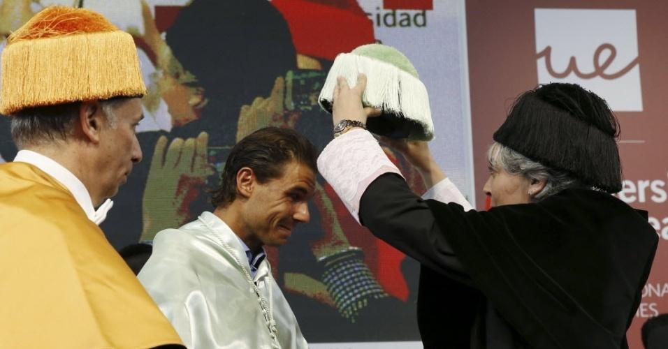 Rafel Nadal recebe título de Doutor Honoris Causa pela Universidade de Madrid