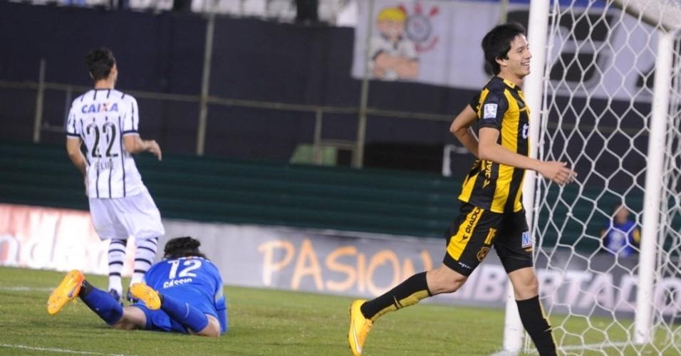 Libertadores Corinthians eliminato dal Guarani