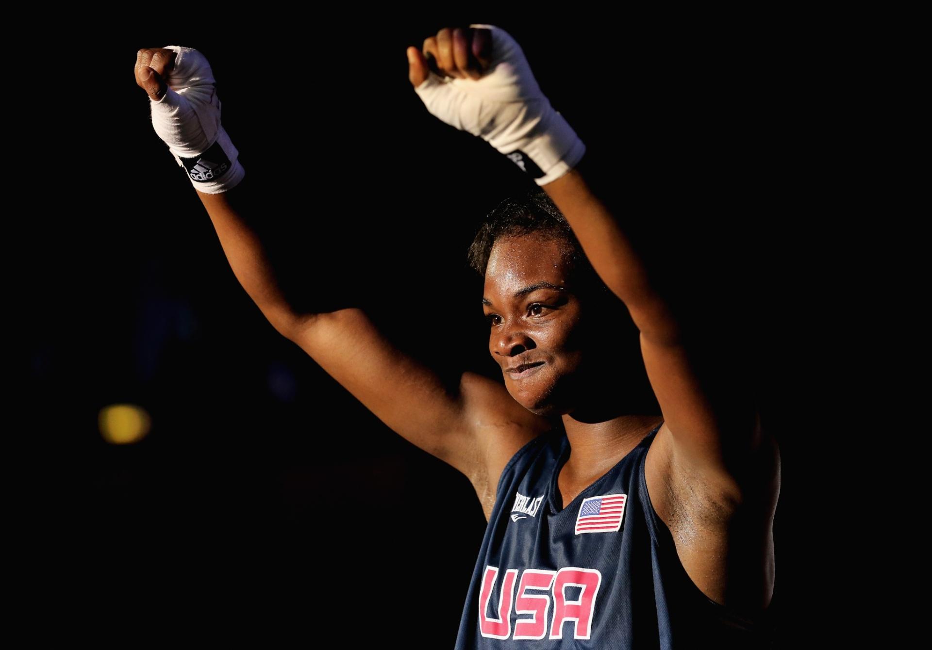 A americana Claressa Shields é campeão olímpica de boxe e não perde um combate há três anos