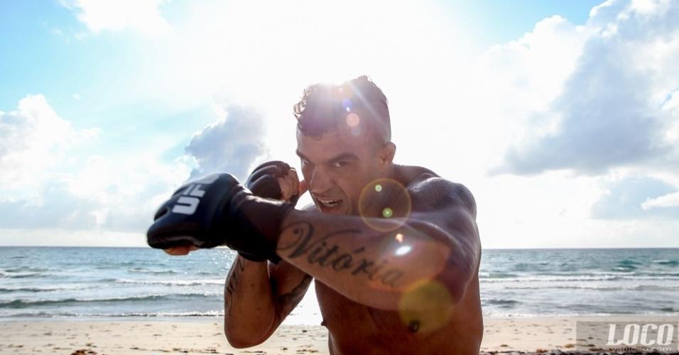 O fotógrafo Ryan Loco é famoso pelos retratos que faz dos lutadores quando está registrando os bastidores dos treinos da Blackzilians